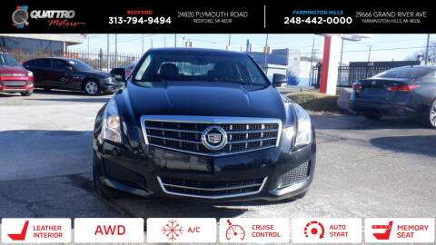 2013 Cadillac ATS for sale at Quattro Motors 2 in Farmington Hills MI