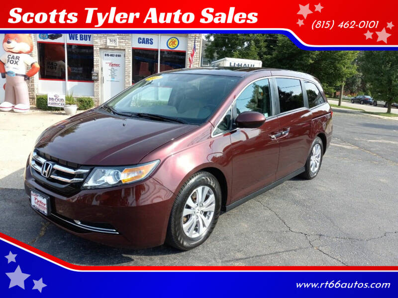 2015 Honda Odyssey for sale at Scotts Tyler Auto Sales in Wilmington IL