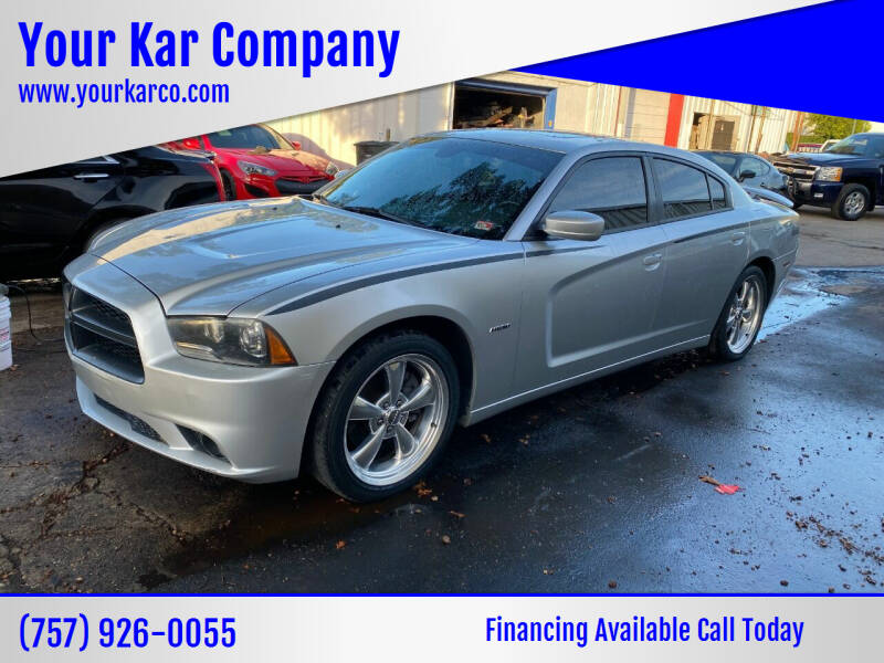 2011 Dodge Charger for sale at Your Kar Company in Norfolk VA