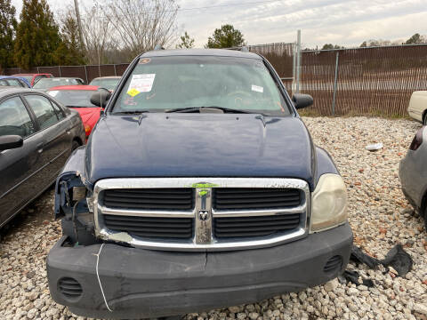 2006 Dodge Durango for sale at Encore Auto Parts & Recycling in Jefferson GA