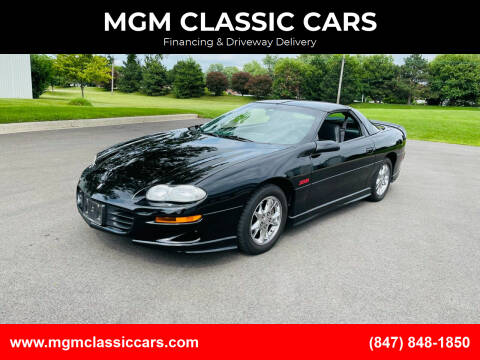 2002 Chevrolet Camaro for sale at MGM CLASSIC CARS-New Arrivals in Addison IL