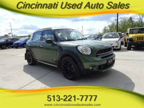 2015 MINI Countryman for sale at Cincinnati Used Auto Sales in Cincinnati OH