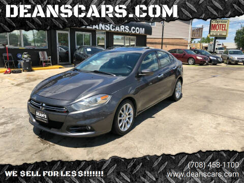 2015 Dodge Dart for sale at DEANSCARS.COM in Bridgeview IL