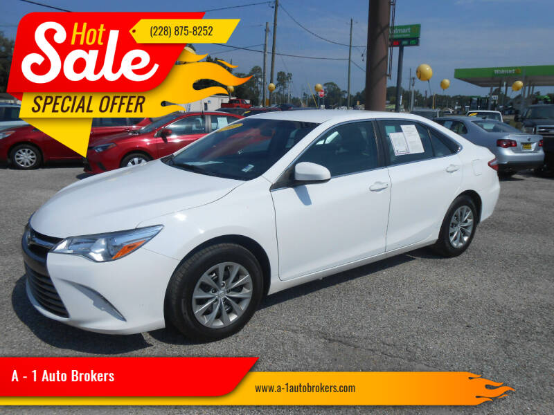 2017 Toyota Camry for sale at A - 1 Auto Brokers in Ocean Springs MS
