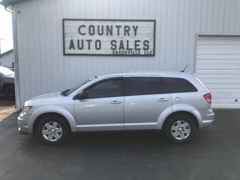 2012 Dodge Journey for sale at COUNTRY AUTO SALES LLC in Greenville OH