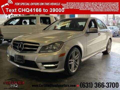 2014 Mercedes-Benz C-Class for sale at CERTIFIED HEADQUARTERS in St James NY