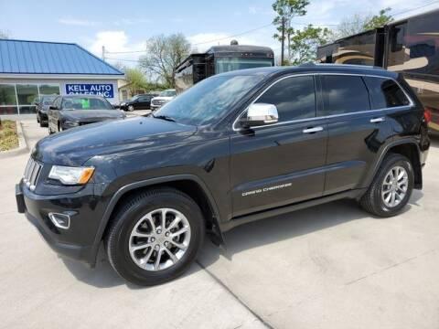 2015 Jeep Grand Cherokee for sale at Kell Auto Sales, Inc - Grace Street in Wichita Falls TX