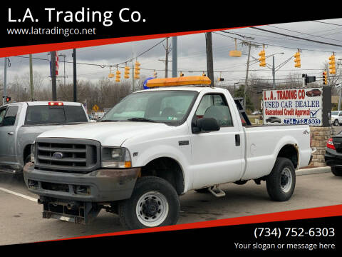 2002 Ford F-250 Super Duty for sale at L.A. Trading Co. in Woodhaven MI