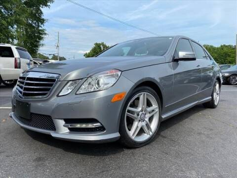 2013 Mercedes-Benz E-Class for sale at iDeal Auto in Raleigh NC