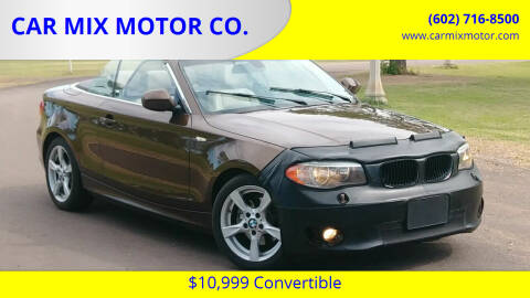 2012 BMW 1 Series for sale at CAR MIX MOTOR CO. in Phoenix AZ