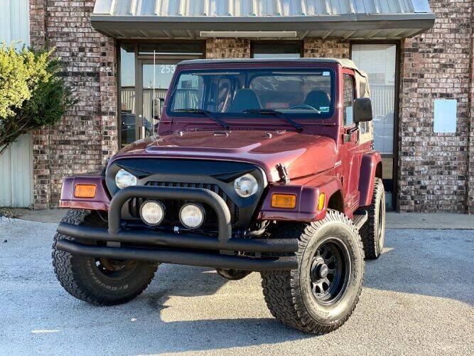 2002 Jeep Wrangler Sahara