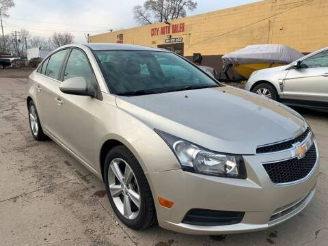 2013 Chevrolet Cruze for sale at City Auto Sales in Roseville MI