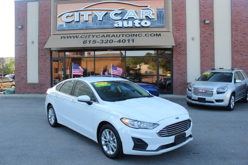 2019 Ford Fusion for sale at CITY CAR AUTO INC in Nashville TN