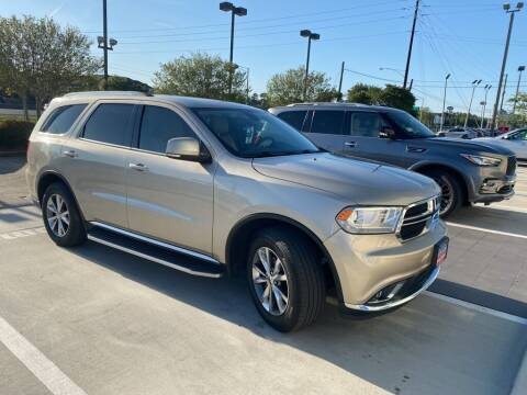2014 Dodge Durango for sale at JOE BULLARD USED CARS in Mobile AL