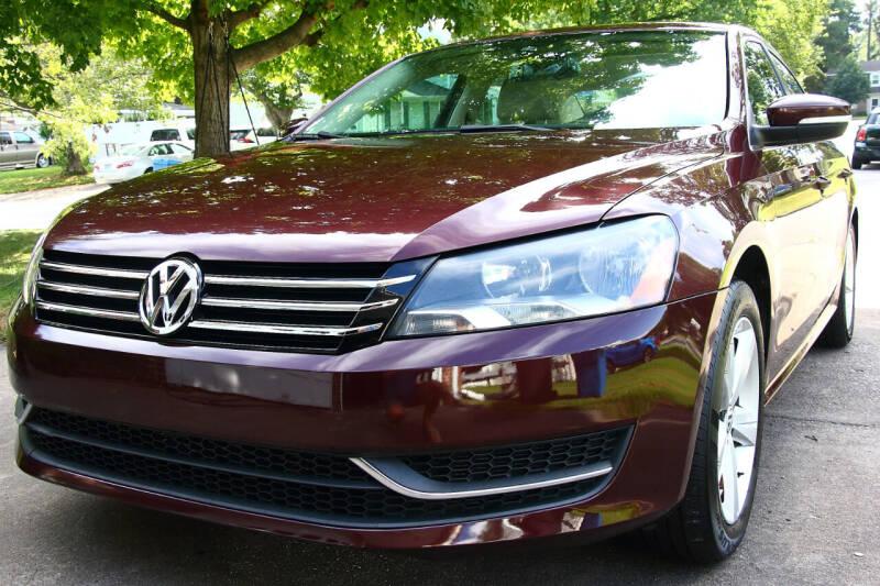 2014 Volkswagen Passat for sale at Prime Auto Sales LLC in Virginia Beach VA
