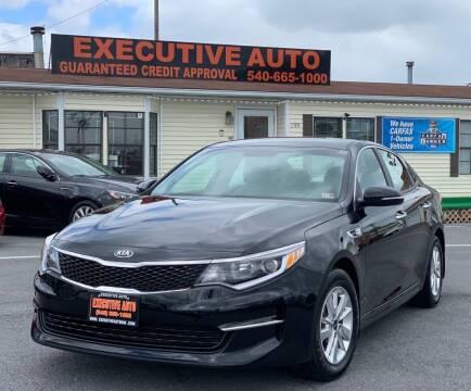 2016 Kia Optima for sale at Executive Auto in Winchester VA