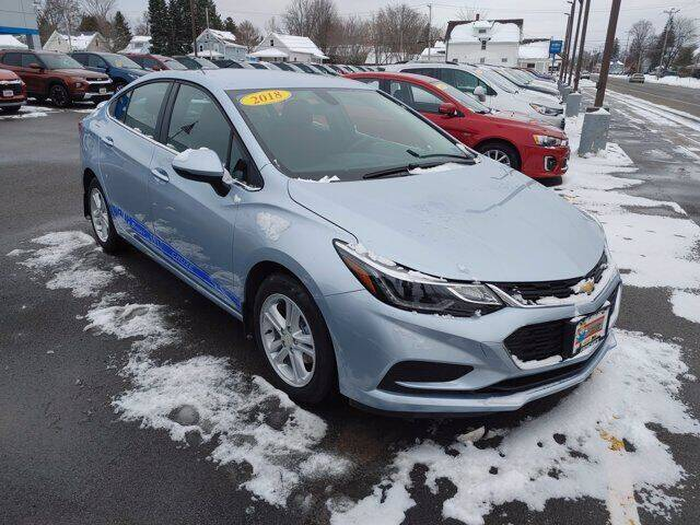 2018 Chevrolet Cruze for sale at Frenchie's Chevrolet and Selects in Massena NY