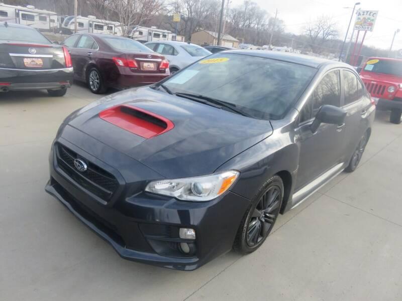 2015 Subaru WRX for sale at Azteca Auto Sales LLC in Des Moines IA