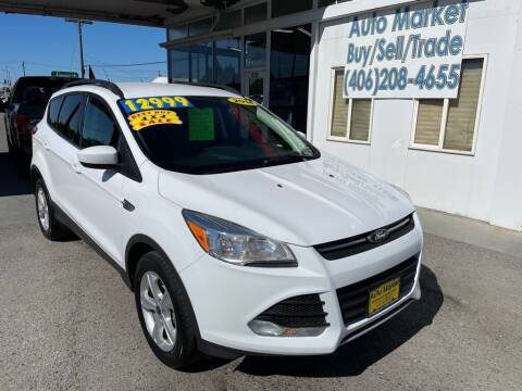 2014 Ford Escape for sale at Auto Market in Billings MT