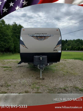 2019 Forrest River Wildcat CT for sale at Hills Auto Sales in Salem AR