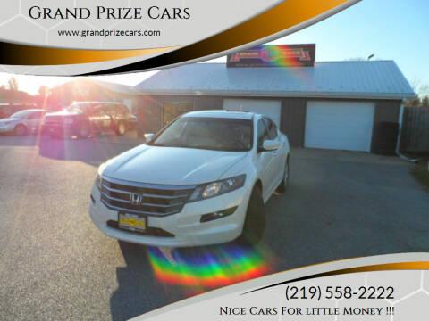 2010 Honda Accord Crosstour for sale at Grand Prize Cars in Cedar Lake IN