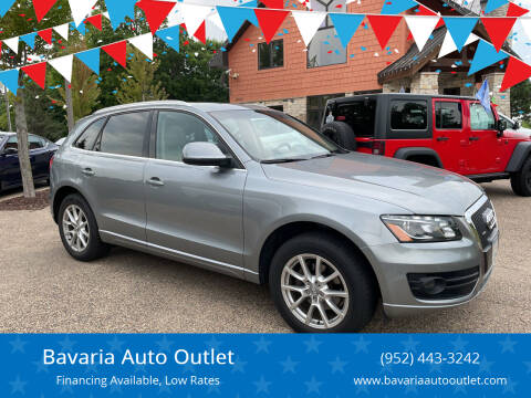 2011 Audi Q5 for sale at Bavaria Auto Outlet in Victoria MN