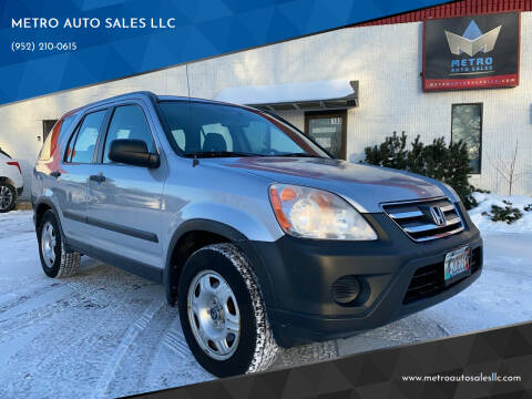 2006 Honda CR-V for sale at METRO AUTO SALES LLC in Blaine MN