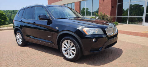 2014 BMW X3 for sale at Auto Wholesalers in Saint Louis MO