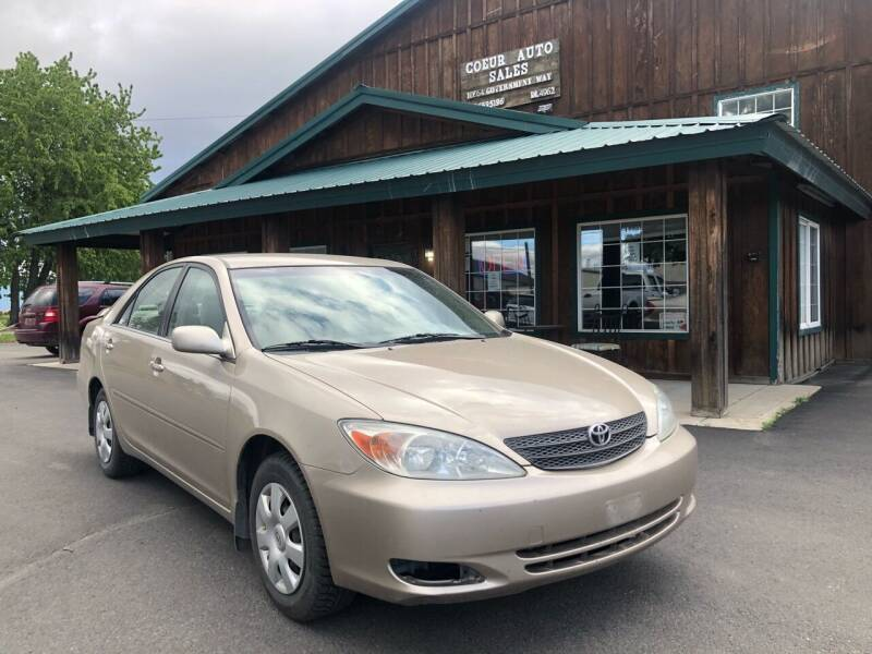 2002 Toyota Camry for sale at Coeur Auto Sales in Hayden ID