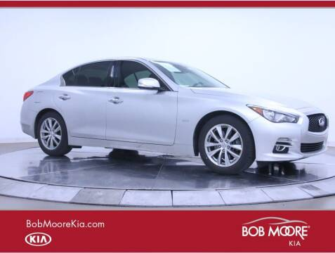 2017 Infiniti Q50 for sale at Bob Moore Kia in Oklahoma City OK