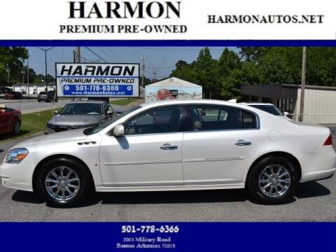 2010 Buick Lucerne for sale at Harmon Premium Pre-Owned in Benton AR