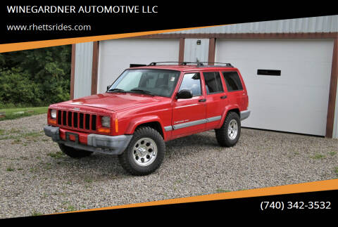 2000 Jeep Cherokee for sale at WINEGARDNER AUTOMOTIVE LLC in New Lexington OH