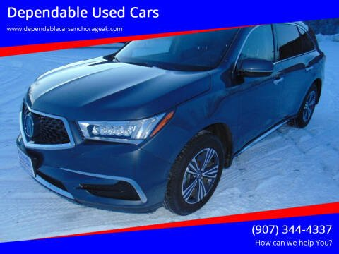 2018 Acura MDX for sale at Dependable Used Cars in Anchorage AK