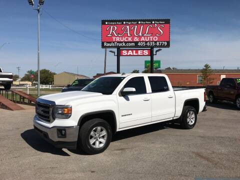 2014 GMC Sierra 1500 for sale at RAUL'S TRUCK & AUTO SALES, INC in Oklahoma City OK