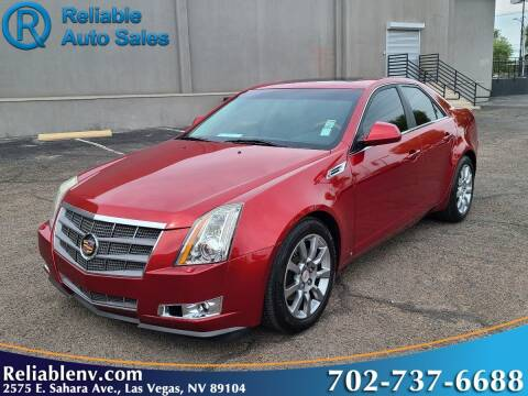 2008 Cadillac CTS for sale at Reliable Auto Sales in Las Vegas NV