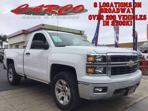 2014 Chevrolet Silverado 1500 for sale at CARCO SALES & FINANCE #3 in Chula Vista CA