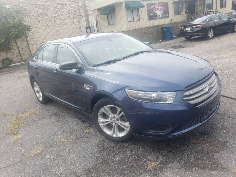 2016 Ford Taurus for sale at Some Auto Sales in Hammond IN