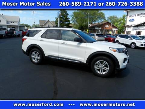 2020 Ford Explorer for sale at Moser Motors Of Portland in Portland IN