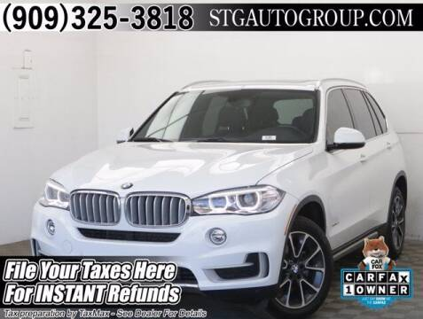 2018 BMW X5 for sale at STG Auto Group in Montclair CA