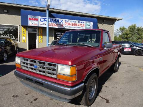 1991 Ford Ranger for sale at Cromax Automotive in Ann Arbor MI