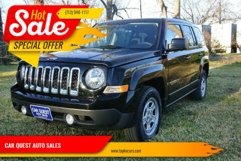 2012 Jeep Patriot for sale at CAR QUEST AUTO SALES in Houston TX