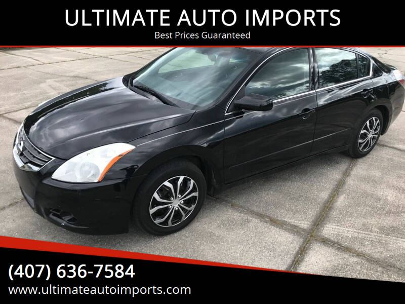 2012 Nissan Altima for sale at ULTIMATE AUTO IMPORTS in Longwood FL