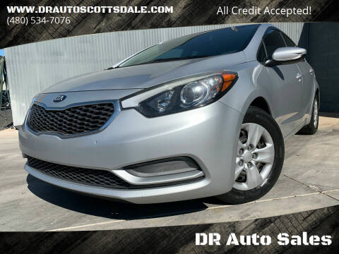 2016 Kia Forte for sale at DR Auto Sales in Scottsdale AZ
