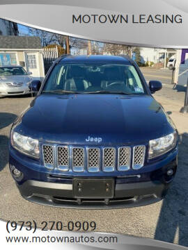 2014 Jeep Compass for sale at Motown Leasing in Morristown NJ