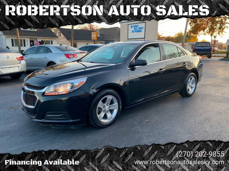 2015 Chevrolet Malibu for sale at ROBERTSON AUTO SALES in Bowling Green KY