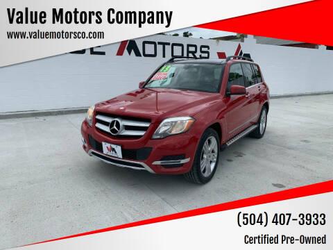 2013 Mercedes-Benz GLK for sale at Value Motors Company in Marrero LA