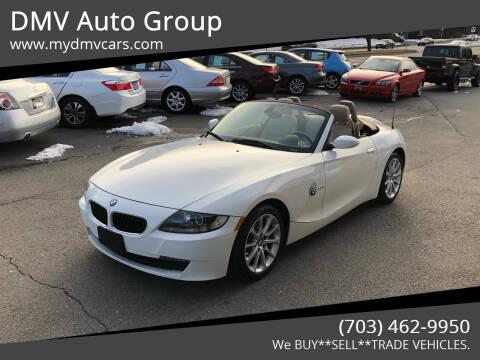 2008 BMW Z4 for sale at DMV Auto Group in Falls Church VA