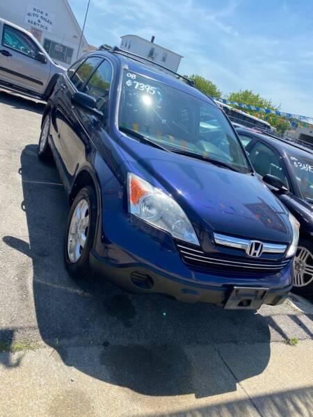 2008 Honda CR-V for sale at Bob Luongo's Auto Sales in Fall River MA