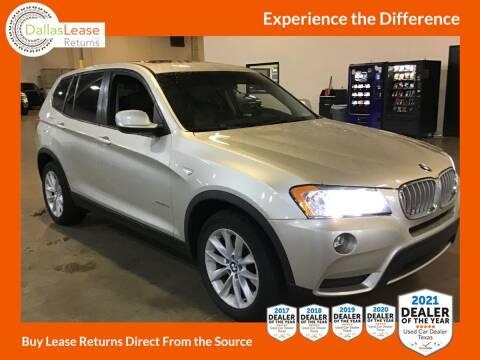 2013 BMW X3 for sale at Dallas Auto Finance in Dallas TX
