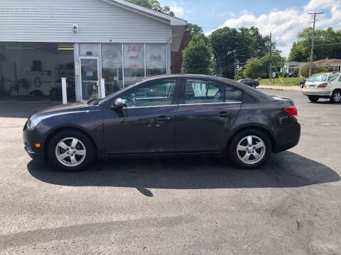 2014 Chevrolet Cruze for sale at J&J Car and Truck Sales in North Canton OH